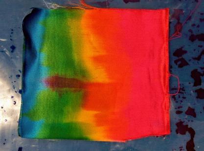 Ruth Issett Workshop - Painting Wet Fabric