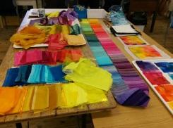 Ruth Issett Workshop - samples