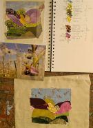 Julia Triston Workshop - students work